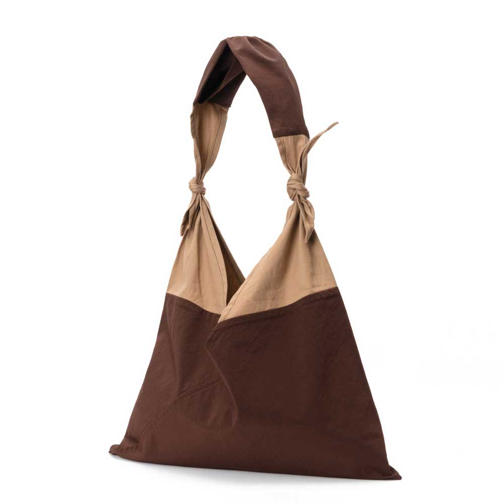 AZUMA BAG x TASUKI BAG STANDARD LARGE - BROWN/CHESTNUT