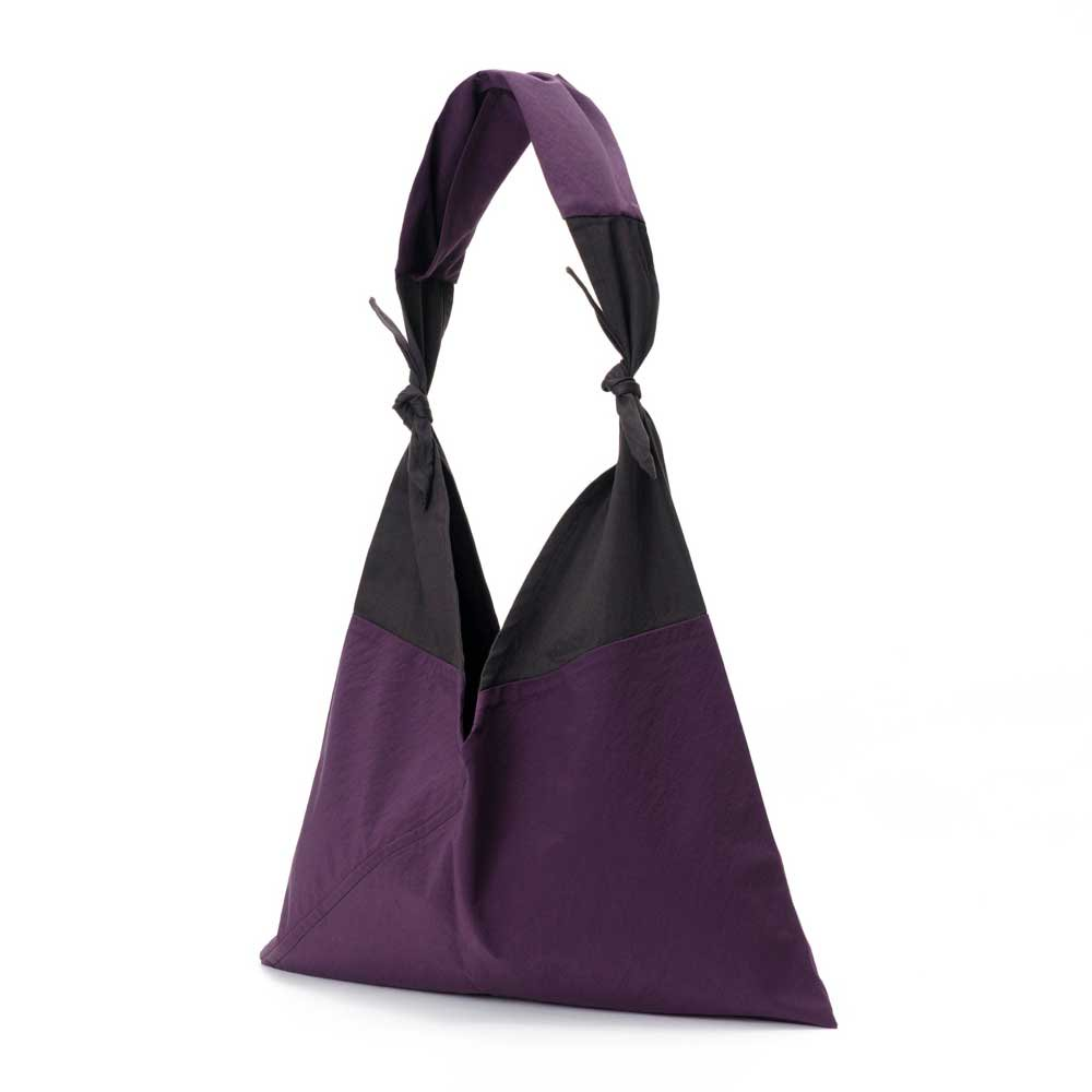 AZUMA BAG x TASUKI BAG STANDARD LARGE - PURPLE/EBONY
