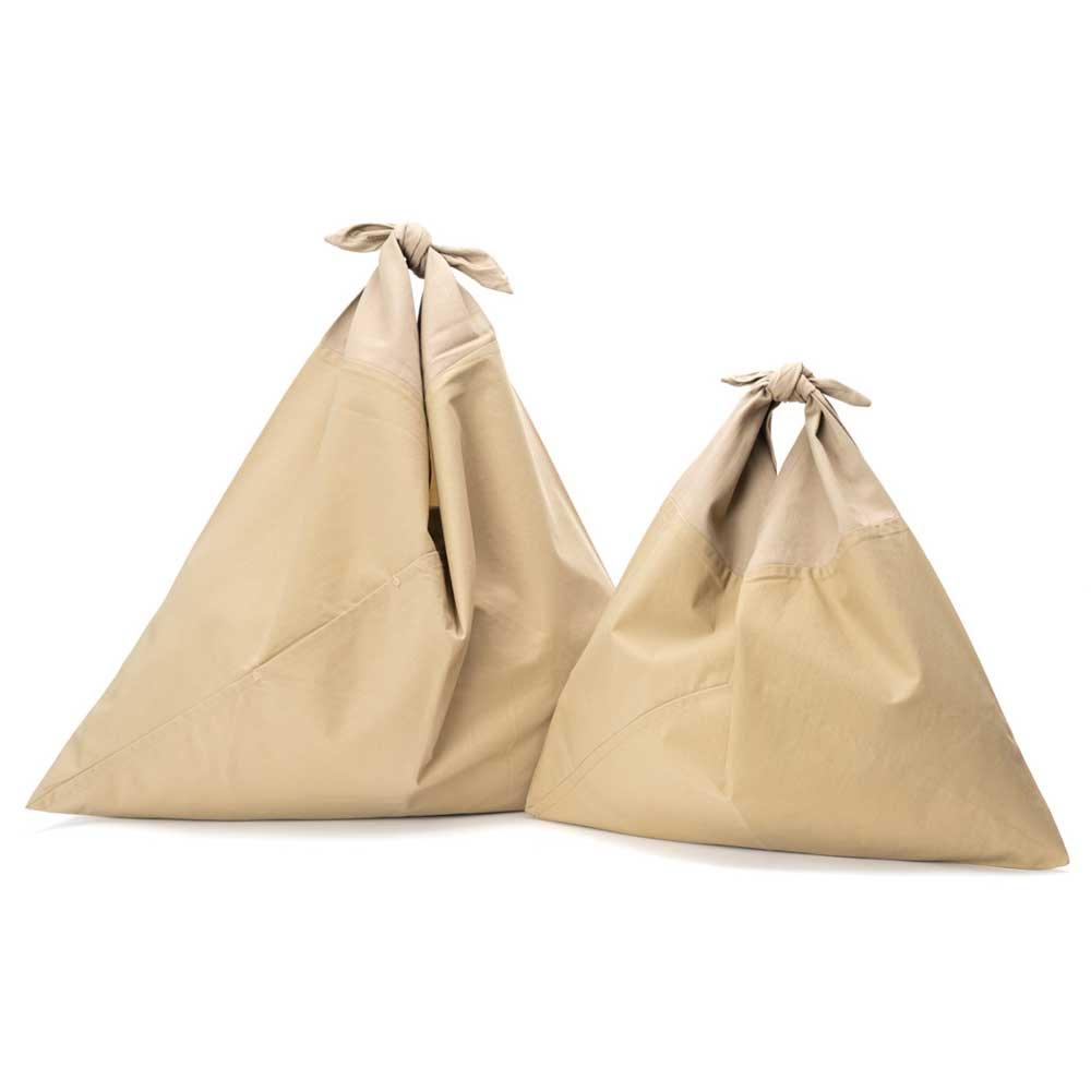 AZUMA BAG PLAIN SMALL - BEIGE/BEIGE