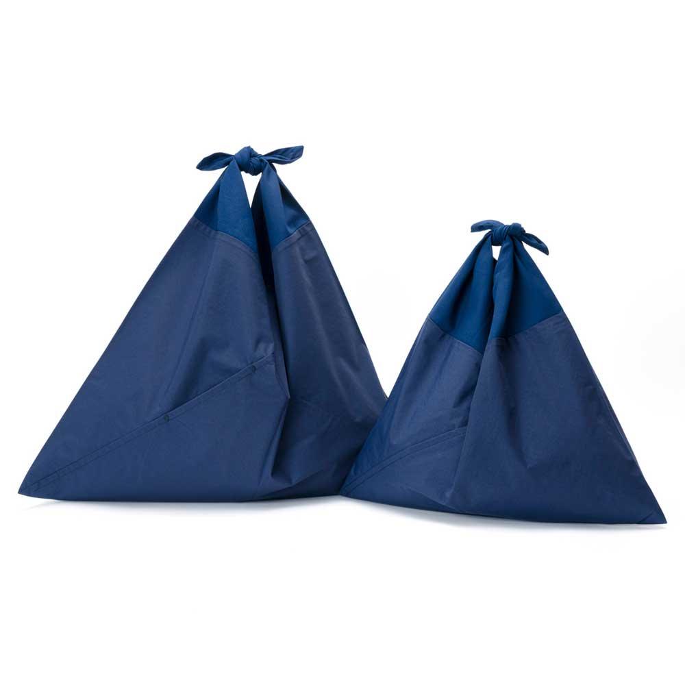 AZUMA BAG PLAIN LARGE - NAVY/NAVY