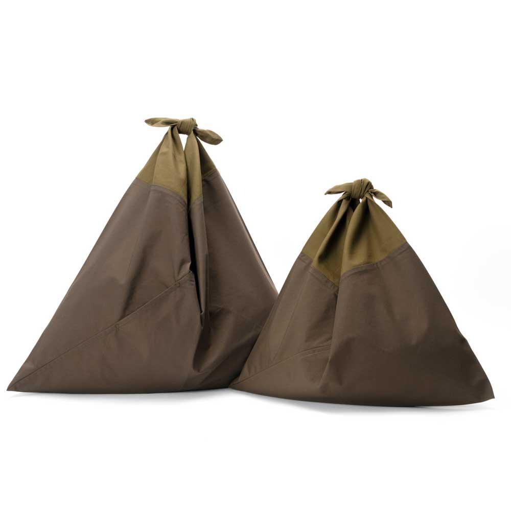 AZUMA BAG PLAIN LARGE - OLIVE/OLIVE