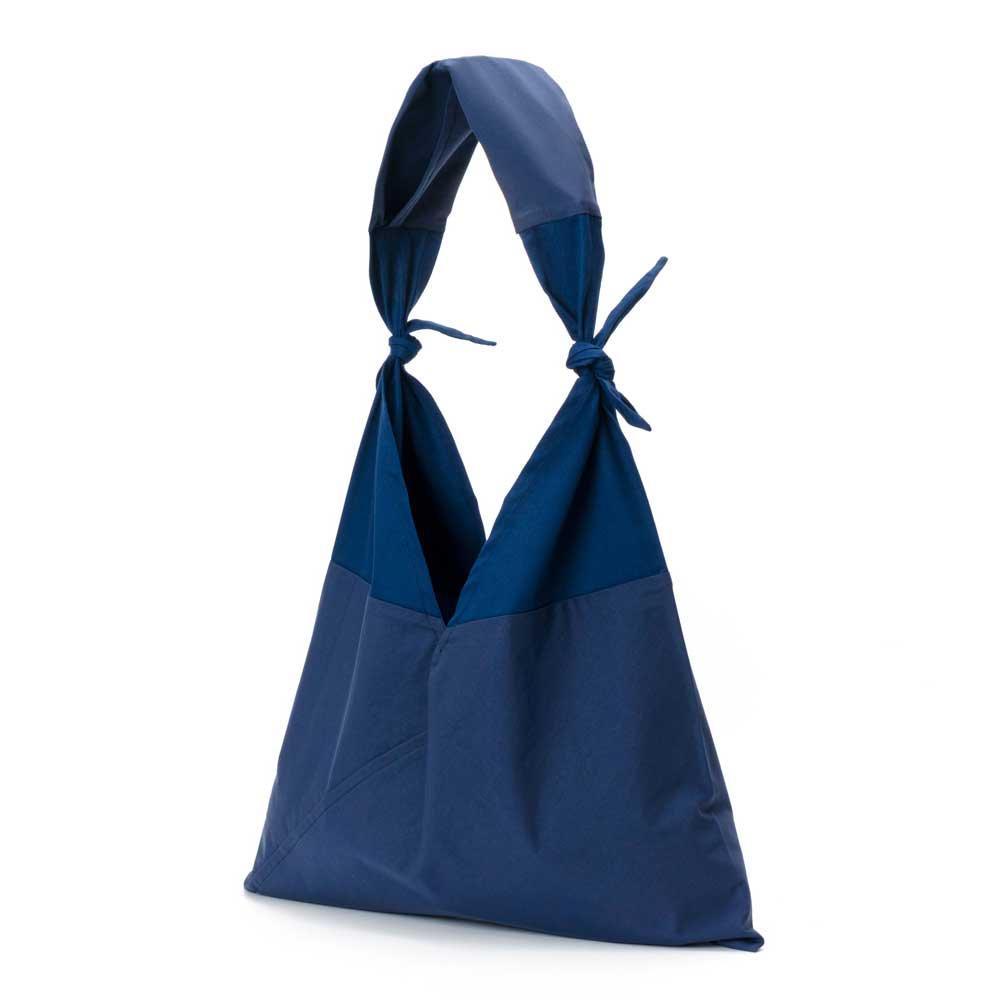 AZUMA BAG x TASUKI BAG PLAIN LARGE - NAVY/NAVY