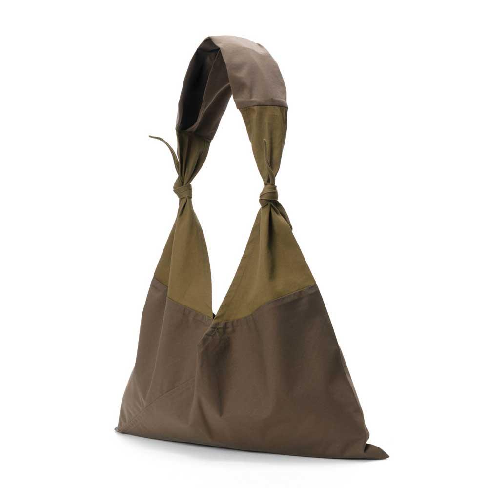 AZUMA BAG x TASUKI BAG PLAIN LARGE - OLIVE/OLIVE