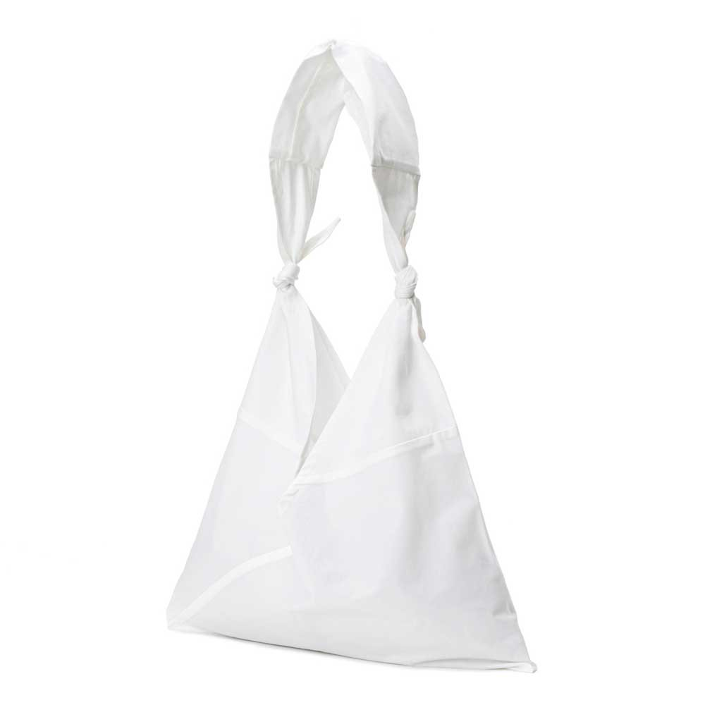 AZUMA BAG x TASUKI BAG PLAIN LARGE - WHITE/WHITE