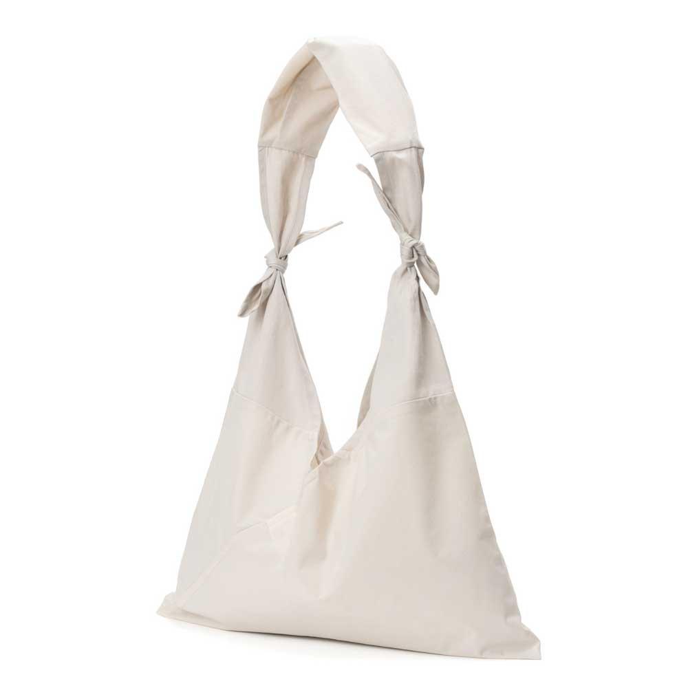 AZUMA BAG x TASUKI BAG PLAIN LARGE - IVORY/IVORY