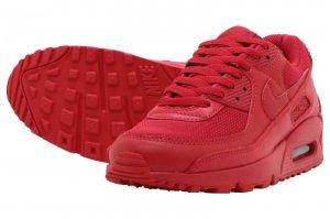 NIKE AIR MAX 90 - UNIVERSITY RED/UNIVERSITY RED