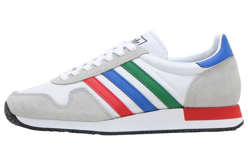 adidas USA 84 - FTW WHITE/GREEN/BLUE FW3274