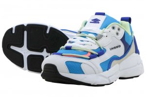 UMBRO BROCONIC RUNNER CLASSIC - WHITE/BLUE