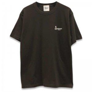 UPTOWN LOGO T-SH アップタウン ロゴ Tシャツ SUMI/BLACK