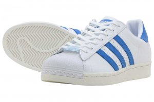 adidas SUPERSTAR アディダス スーパースター FTW WHITE/BLUE BIRD/OFF WHITE FW4406
