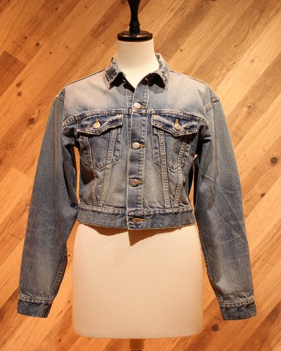 HOLIDAY SHORT DENIM JACKET (WASH)