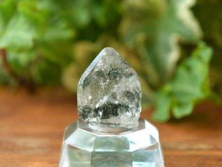 ヒマラヤ水晶・原石 with クローライト(緑泥石)