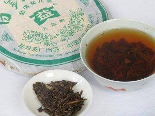 2006年 大益 白針貢餅(生茶)