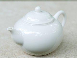 三希 牙白 茶壺