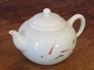 三希 遊魚 茶壺