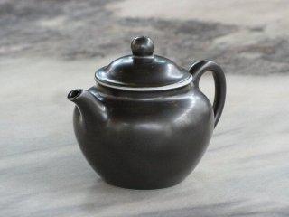 三希 黒釉小茶壺