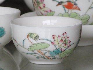 蓮花 茶杯