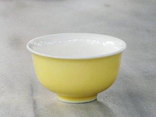 三希 黄地釉小杯