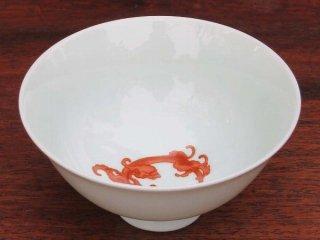 三希 銭龍響杯(紅)