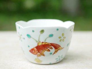 花邊魚藻杯