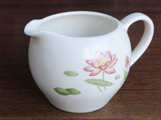 粉彩風 荷花 茶海
