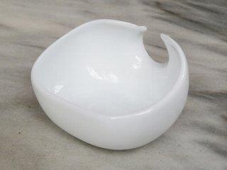 茶荷 白(三足)