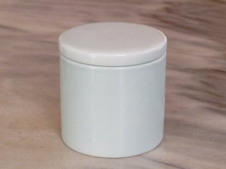三希 青白 茶筒