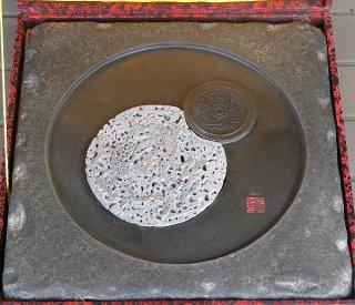 石茶盤 四角