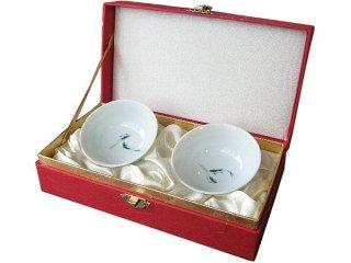 三希 五福響杯 緑魚 セット