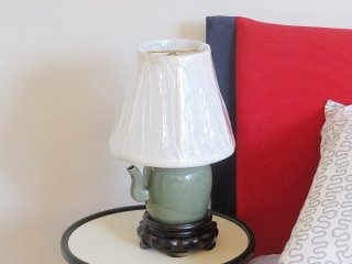 景徳鎮ランプ 茶壺