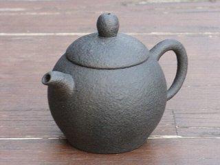 林國立 黒泥茶壺(2822)