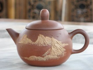 林國立 山水壺(1882)