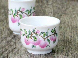 仙桃 茶杯