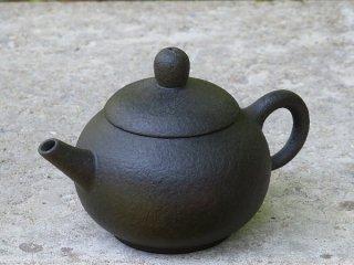 林國立 黒泥茶壺(2871)