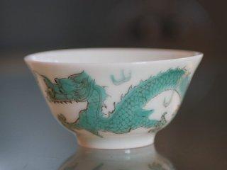 緑彩雲龍杯(2)