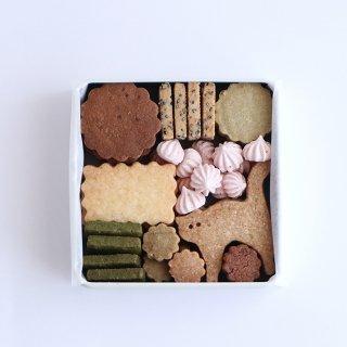 さくらと新緑のクッキーボックス