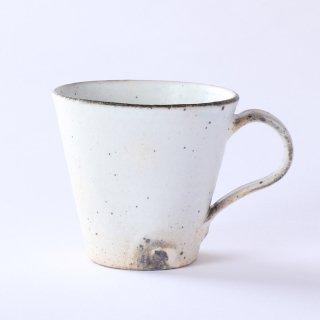 T POTTERY(ティーポタリー)十河隆史 粉引マグカップ