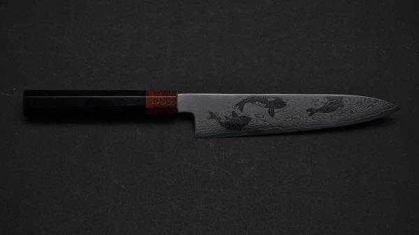 錦鯉 牛刀 漆柄<br>Nishiki-Koi Gyuto Urushi Handle