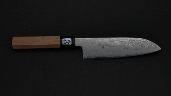 桜吹雪 三徳 桜柄<br>Sakura Santoku Sakura Handle