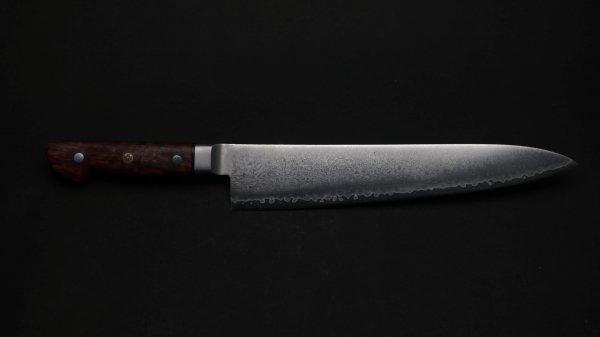 HIRO V金10号 牛刀 カリンコブ柄<br>HIRO VG10 Gyuto Quince Handle