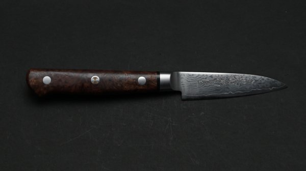HIRO V金10号カリン柄 パーリング</br>HIRO VG10 Quince wood Paring