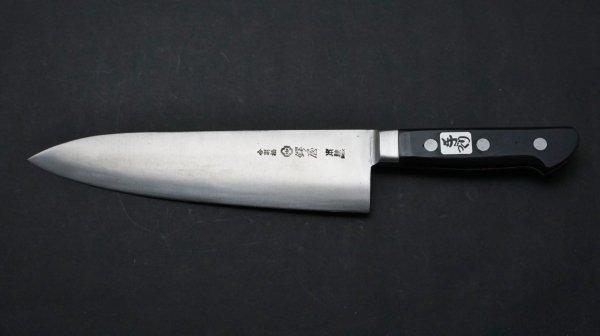 左刃 本焼 INOX 洋出刃 <br>Left Handed Honyaki INOX Yo Deba