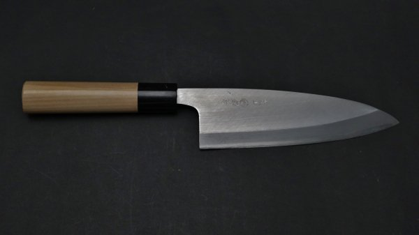 サビニクイ 出刃 朴柄<br>Stainless Deba Magnolia Handle