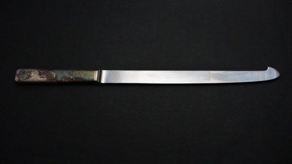 つば屋 ウェディングケーキナイフ ステンレス柄<br>Tsubaya Wedding Knife Stainless Handle