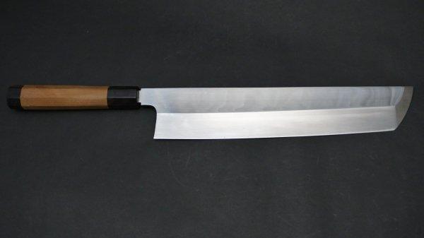 本焼 安来鋼 骨切 朴柄<br>Honyaki Yasuki Hagane Honesuki Magnolia Handle