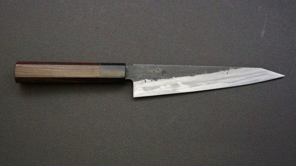 藤(とう) 切付牛刀 黒檀柄 (骨スキ型)<br>Tou Kiritsuke Gyuto Ebony Handle (Honesuki Type)