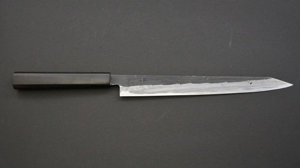 籐(とう) 切付筋引 黒檀柄<br>Tou Kiritsuke Sujihiki Ebony Handle