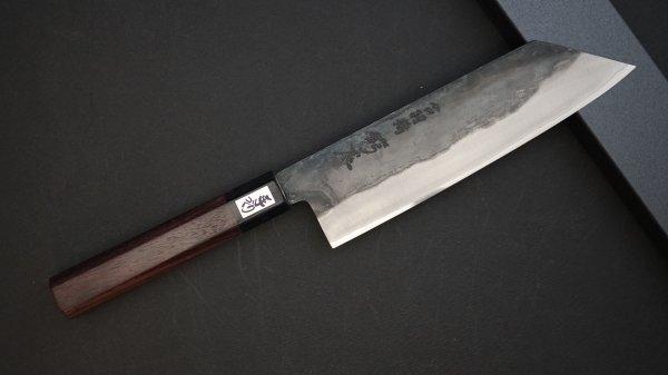 吉田刃物 ZDP-189 黒打 和式柄 文化 紫檀柄<br>Yoshida ZDP-189 Kurouchi Wa-handle Bunka Rosewood Handle