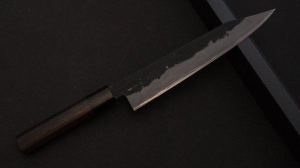 藤(とう) 切付牛刀 紫檀柄<br>Tou Kiritsuke Gyuto Rosewood Handle