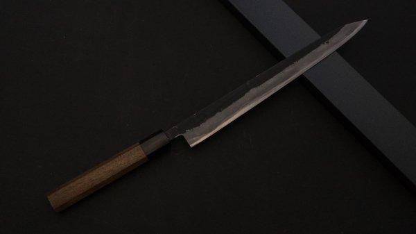 藤(とう) 切付筋引 紫檀柄<br>Tou Kiritsuke Sujihiki Rosewood Handle